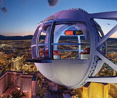 What to Do in Las Vegas: High Roller Ferris Wheel