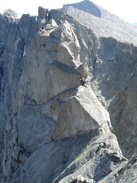 Direct Southwest Face in Sharks Nose Wyoming Trad 7 pitch Fred Beckey Yvon Chouinard alpine ~ adventure
