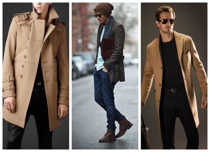 Fall, winter outfits for men - coat.