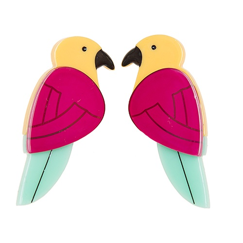 Parrots Paradise studs. A bird doesn't sing because it has an answer, it sings because it has a song.