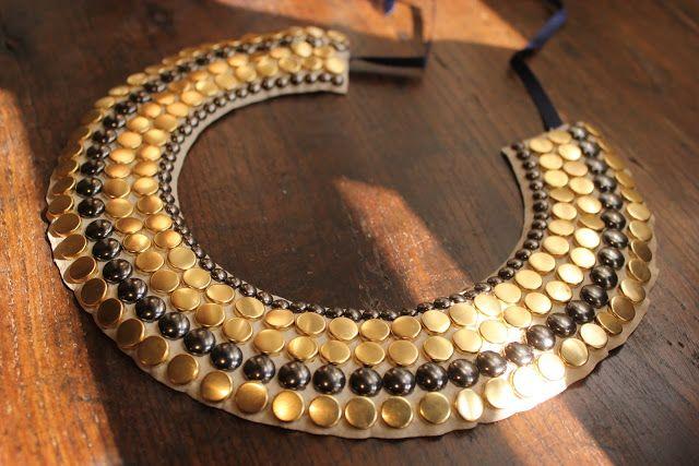 Regala este bonito collar al estilo del antiguo Egipto hecho con tus manitas.