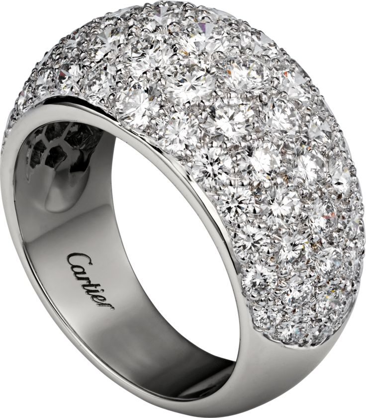 Diamants Classiques Ring White gold, diamonds