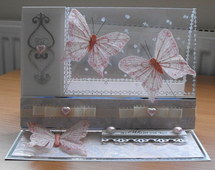card making ideas with acetate