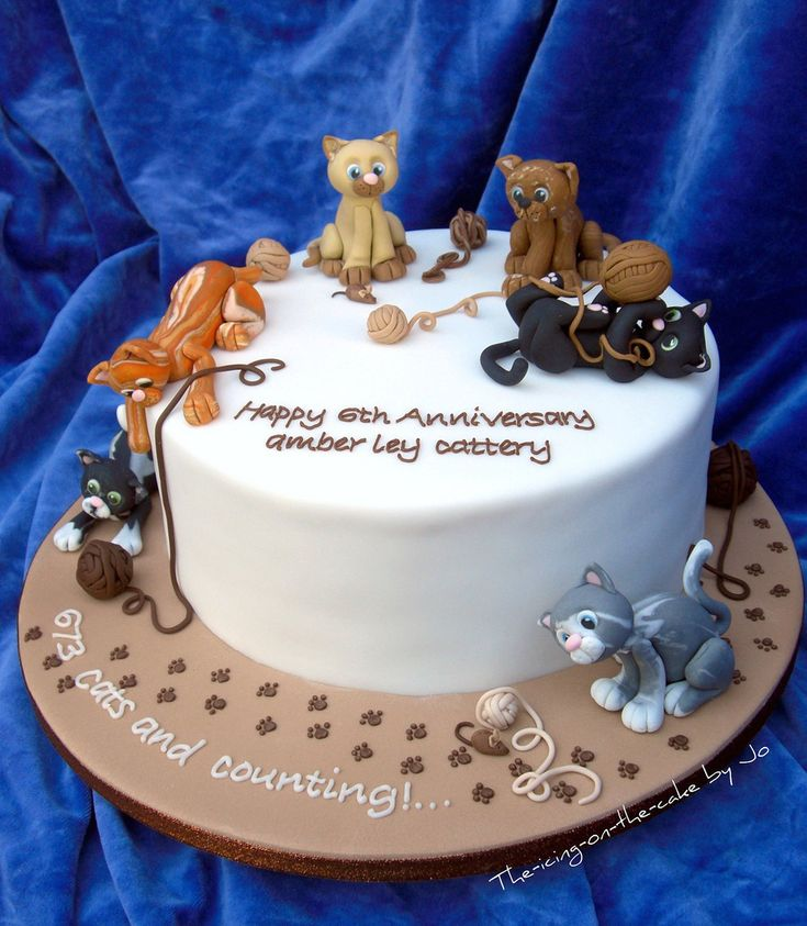Cats cake...I would LOVE to get this as a birthday gift someday