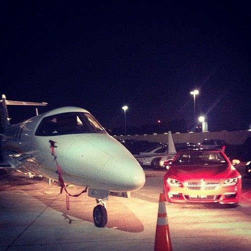 Private Jet ready to go on a moments notice