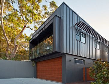 Zinc Facade Design Ideas, Pictures, Remodel and Decor