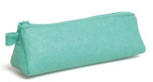 Artemio Felt Pencil Case - Triangular Turquoise