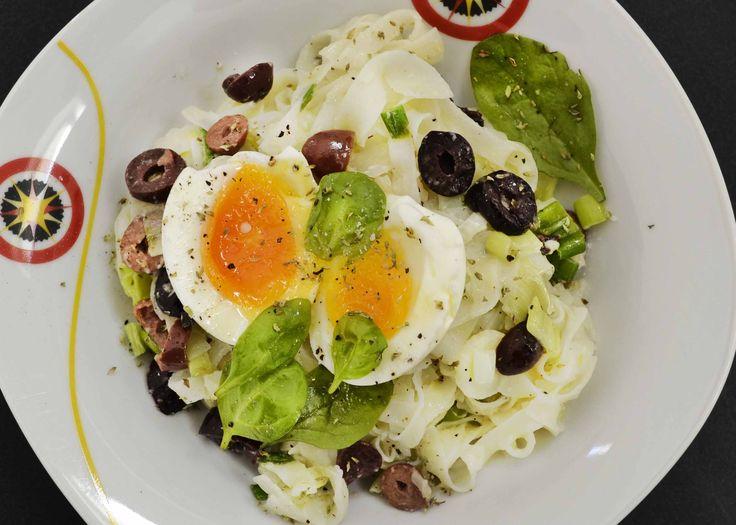Gluten Free Greek Taste Rice Noodles - Powered by @ultimaterecipe