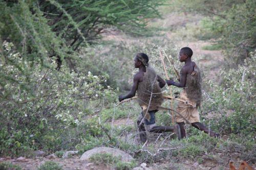 Hadza hunters