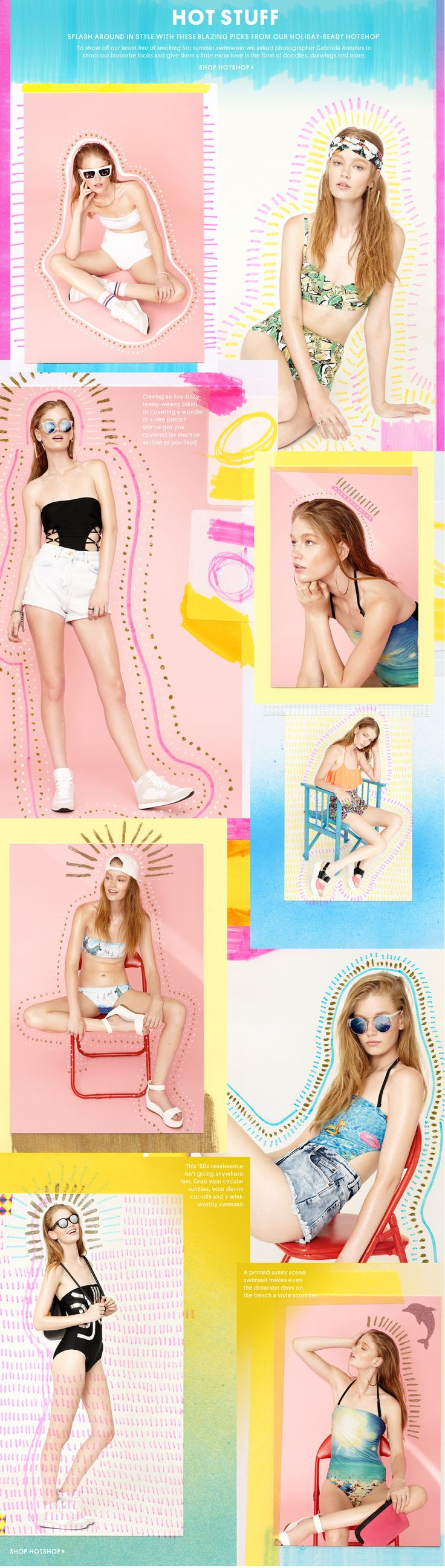 Hot stuff - Topshop USA Catalogo