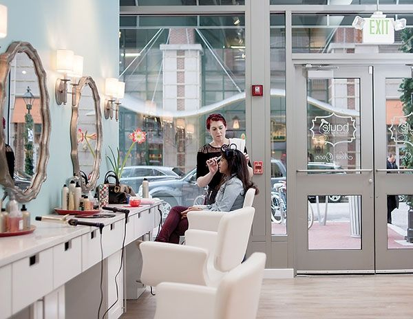 So, what's the allure of these new blow-dry bars? | Baltimore magazine Photo by David Colwell