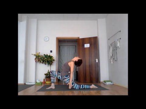 Szokj rá a jógára! (jóga otthon) 14. nap- Váll/mellkasnyitás és hátrahajlítás - YouTube