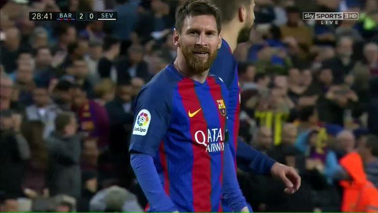 Lionel Messi Goal - Barcelona vs Sevilla 2017