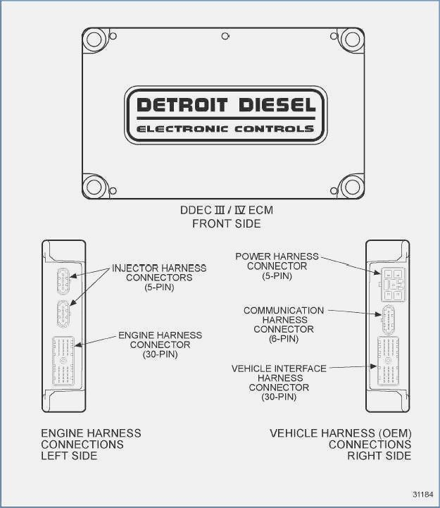 Detroit Series 60 Ecm Wiring Diagram Dolgular Of Ddec V