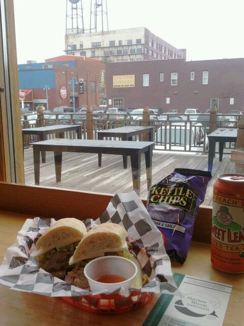 Northern Waters Smokehaus in Duluth, MN - doesn't get much better than that!