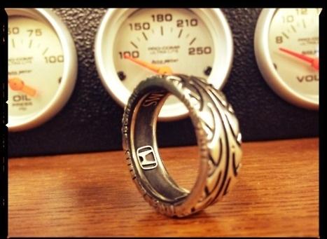 Honda Tire Wedding Ring I Freaking Love This