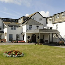Treglos Hotel, Restaurant and Spa, in Cornwall, set in an amazing location with views across overlooking Constantine Bay, which is home to one of the finest beaches in Cornwall.  See details at http://www.staysouthwest.com/ssw/index.php?id=1713#page=page-1
