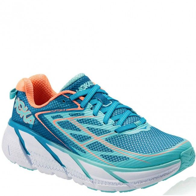 Discount Summer 130 Hoka One One Clifton 2 Running Shoe Neon Pink/Acid Women Crazy prices