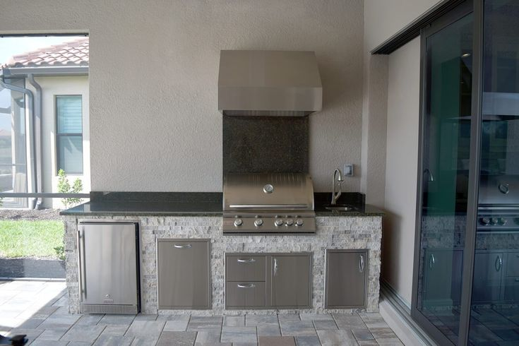 Naples Summer Outdoor Kitchen Elegant, Outdoor Kitchen Cabinets Naples Fl