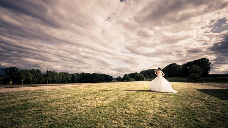 Lancer du bouquet de la mariée