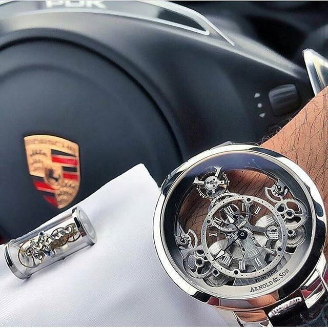 Checkout this badass Porsche x Arnold & son timepiece. Would you wear this watch? Spotted @theguidewatches 📸@bader belselah #tech #manstrav Tag us for a chance to be featured! @manstrav.official #mensfashion #timepieces #cartier #rolex #timepiece #wristgame #watch #mens #watchporn #wristporn #watchesofinstagram #swisswatch #watchs #orologi #horology #watches #instawatch #thedailywatch #rolexaholics #watchanish #menswear #wristshot #menslifestyle #mensapparel #arnoldandson