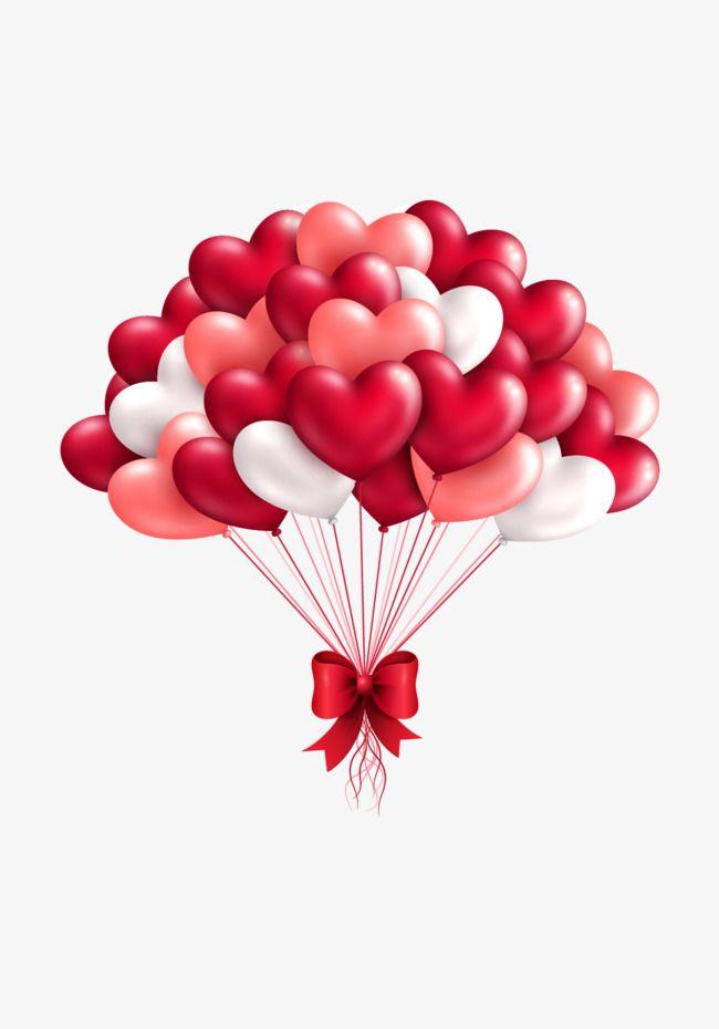 1411971a094cbd Vector Red Love Balloons