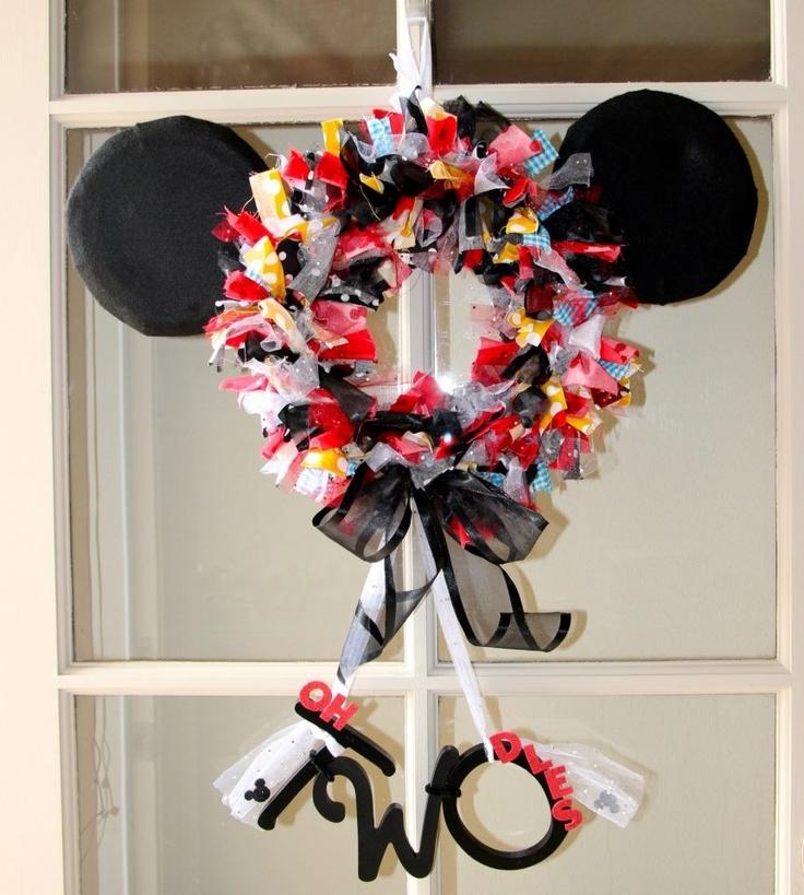Les 25 meilleures id es de la cat gorie anniversaire th me mickey mouse sur pinterest f te de - Decoration mickey anniversaire ...