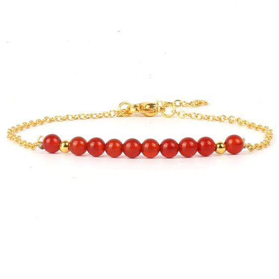 Bracelet pierres semi-précieuses
