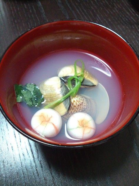 蛤のお吸い物✿ by YUKI0611