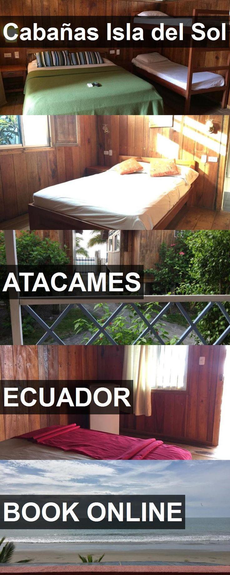 Hotel Cabañas Isla del Sol in Atacames, Ecuador. For more information, photos, reviews and best prices please follow the link. #Ecuador #Atacames #hotel #travel #vacation