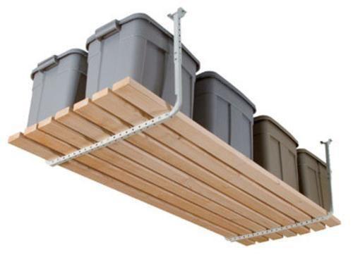 Hyloft 80842-10 Ceiling Storage Rack, 200 lbs, White #Hyloft