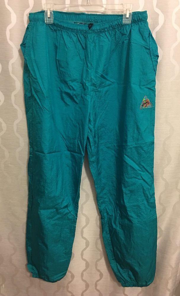 Ocean Equipment Vintage1980's 80's Nylon Parachute Pants Mens Size Large L Surf #OceanEquipment #Pants
