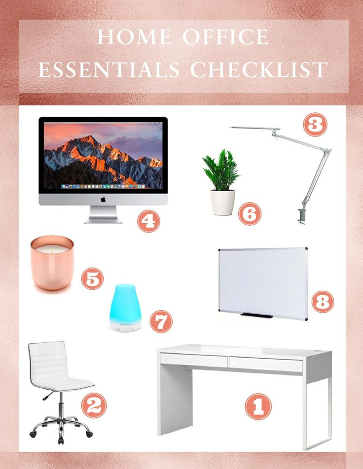 Top 10 Home Office Desk Essentials for Major Productivity + Checklist/Budget Calculator