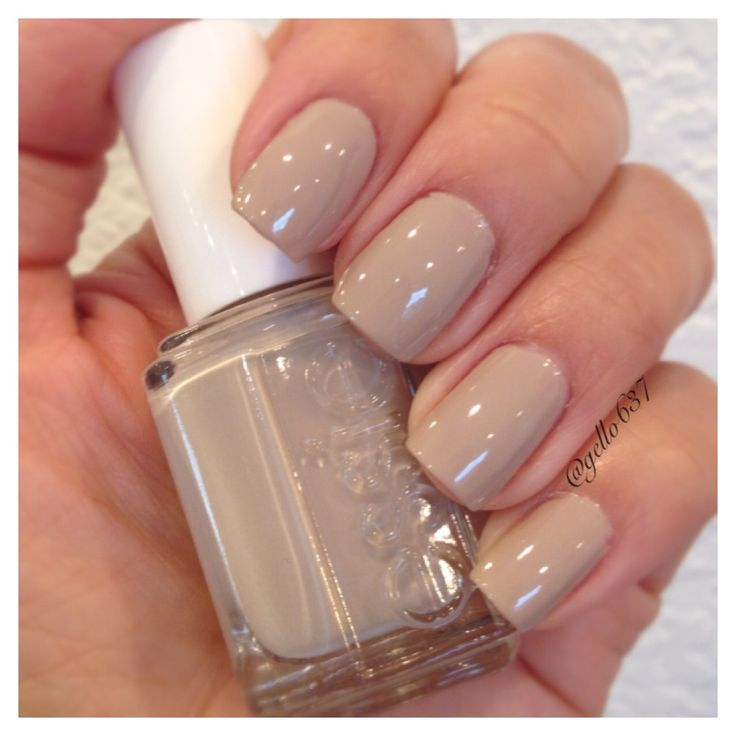 "Essie ""Sand Tropez"". I just bought this one today and I have to say... It's my new favorite nail color."