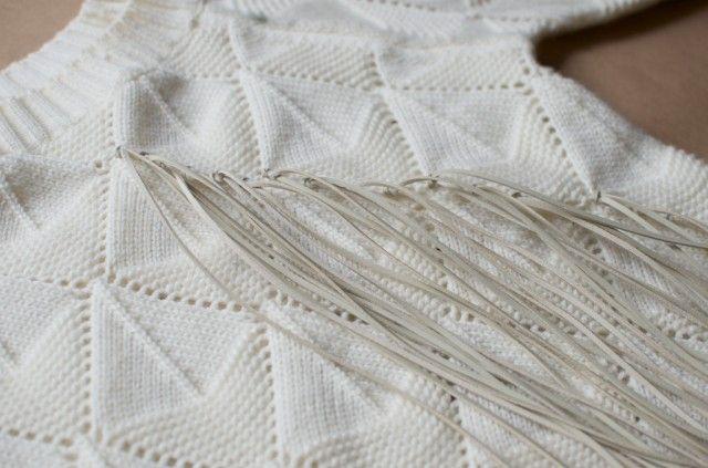 diy fringed knit 026