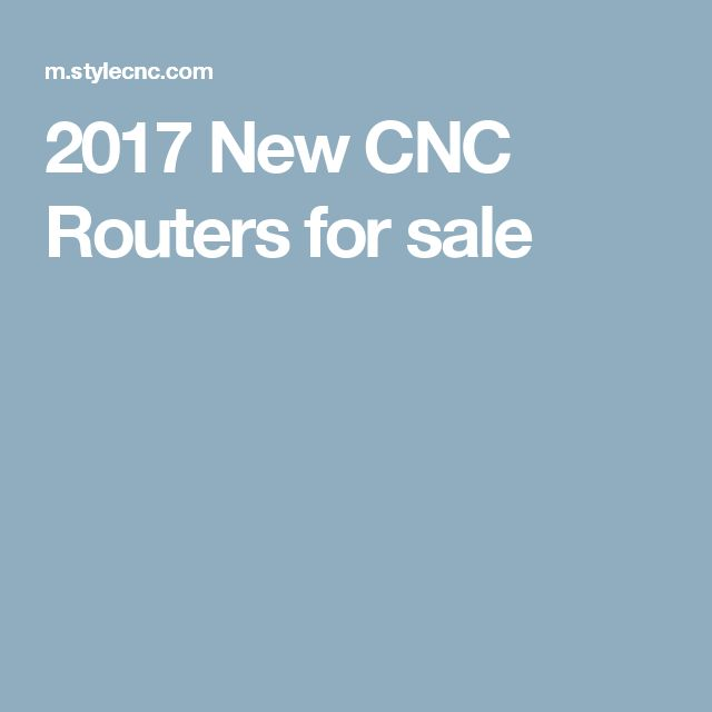 2017 New CNC Routers for sale