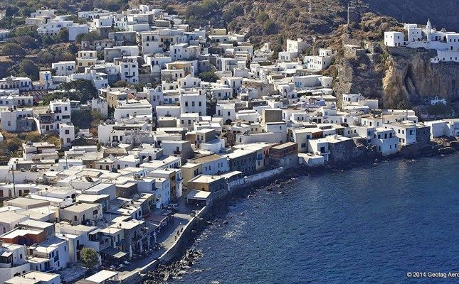 Το Μανδράκι Νισύρου (λήψη από drone) #Greece http://diakopes.in.gr/trip-ideas/article/?aid=210358