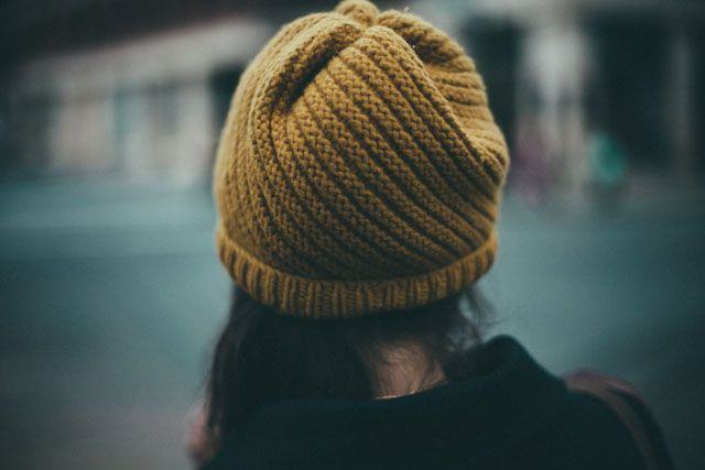 How To Decrease Stitches In Knitting A Hat : Winter hat Knitting Pinterest