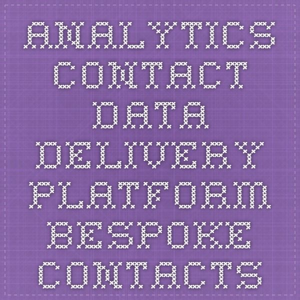 Bespoke Contacts helps you in getting analytics of your data projects - company wise, contact wise, industry wise, revenue wise, employee wise