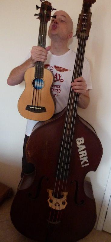 Jason Barnard: Kala U-BASS vs Double Bass