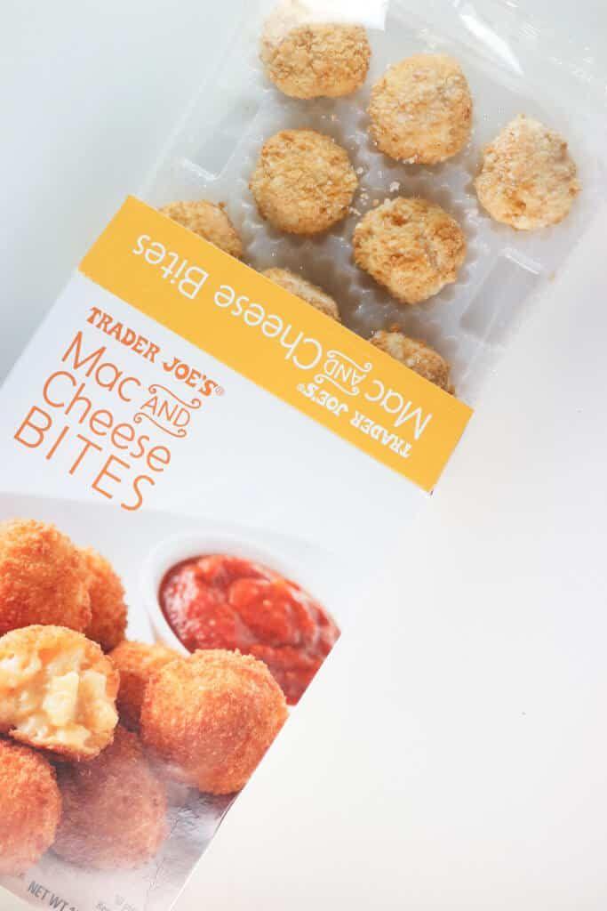 Trader Joe S Mac And Cheese Bites In 2020 Mac And Cheese Bites Cheese Bites Mac And Cheese