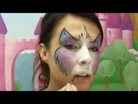 Kitty Cat Face Painting Video Tutorial