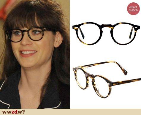 Zooey Deschanel Glasses Brand