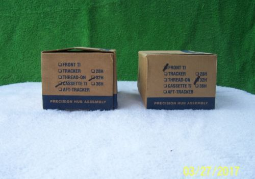 NOS-White-Industries-Hubset-32h-Front-TI-Hubs-TI-Cassette-Hub-Tracker
