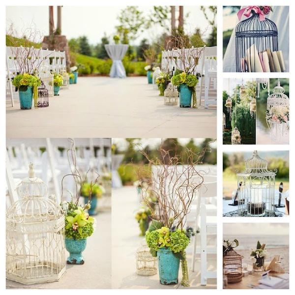 Tutorial jaulas vintage para tu boda arreglos florales for Decoracion bodas baratas