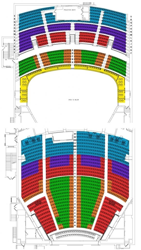 Capitol Theatre Seating Plan Di 2020