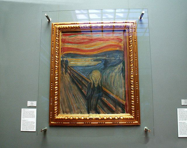 "The original ""Scream"" at the National Gallery"