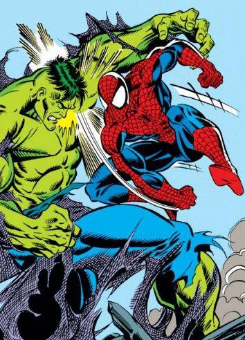 Spider-Man vs. Hulk | Spider-Man Vs | Pinterest