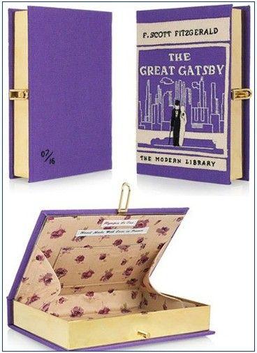 Olympia Le Tan Book Clutch. It's not a book, it's a clutch!