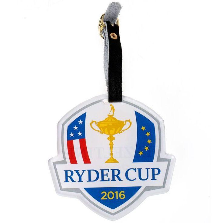 "2016 Ryder Cup 3"" x 3"" Acrylic Golf Bag Tag"